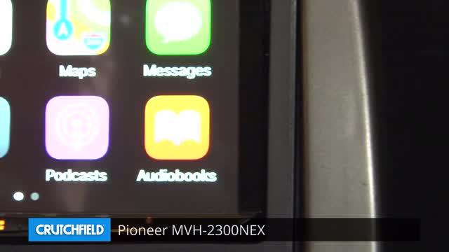 Pioneer MVH-2300NEX Digital multimedia receiver (does not play CDs