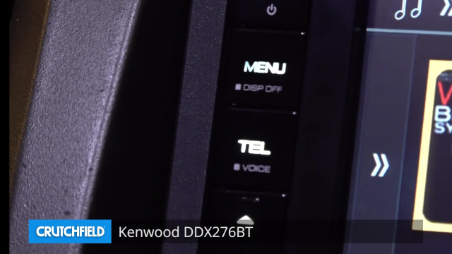 Kenwood DDX276BT DVD receiver at Crutchfield