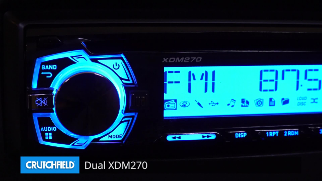 Dual XDM270 CD receiver at Crutchfield on