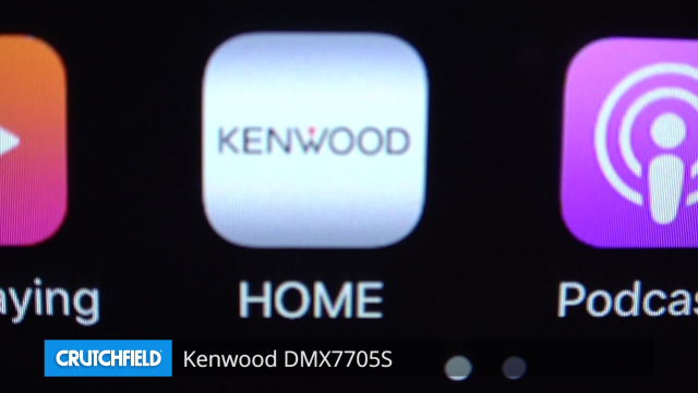 Kenwood DMX7705S Digital multimedia receiver (does not play ... on