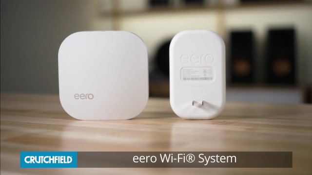 eero Home Wi-Fi® System Mesh Wi-Fi system with one eero router and