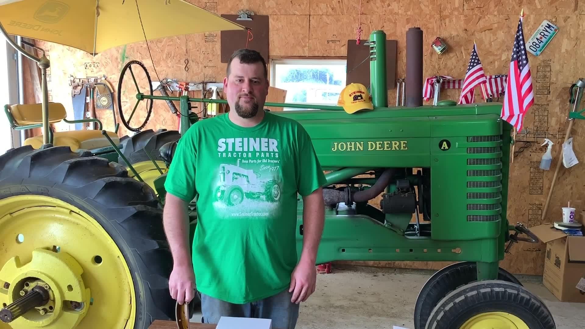 Brake Rebuild on John Deere A